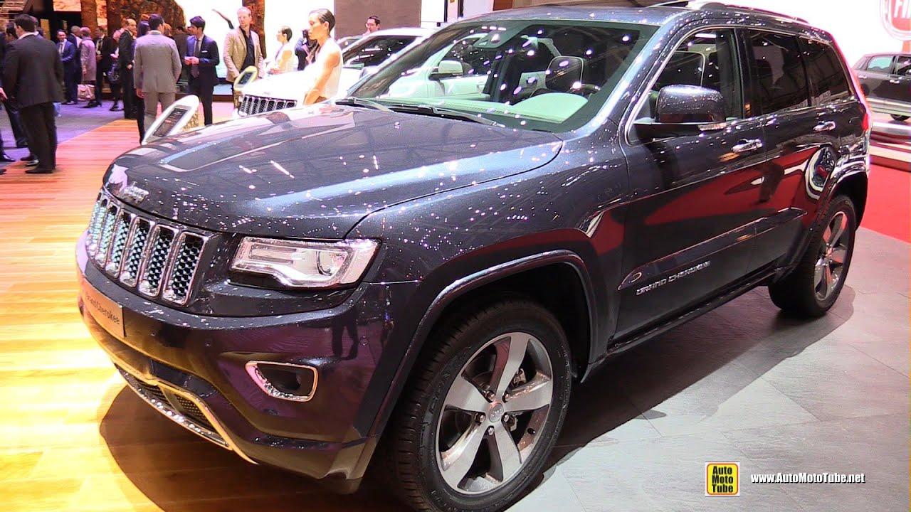 2015 jeep grand cherokee overland diesel exterior and - 2015 jeep grand cherokee interior ...