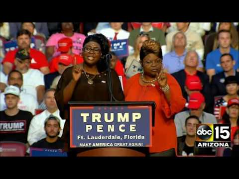 FULL SPEECH: Diamond & Silk Bring The HOUSE DOWN For Donald Trump In Ft. Lauderdale - CHOO CHOO