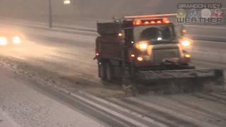 March 24th, 2013 Wichita, Kansas Snow