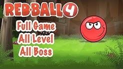 Red Ball 4 - All level - All Boss - Full Game