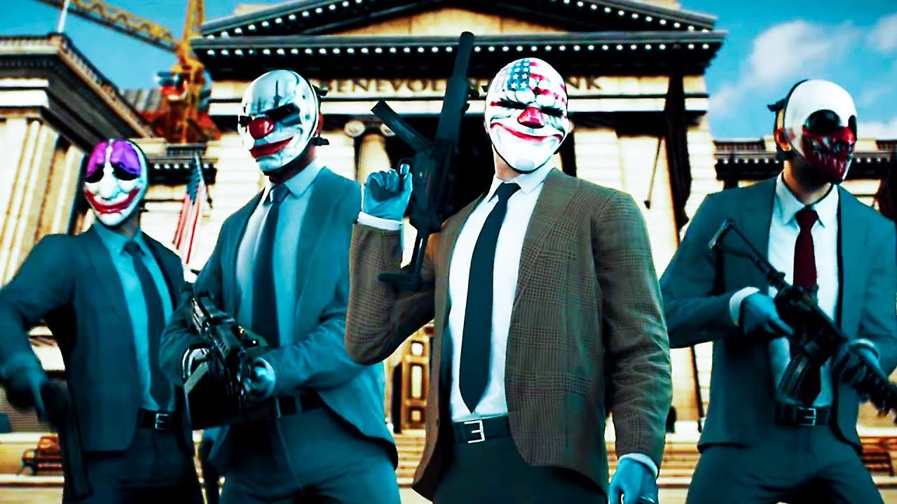 Payday 2 Legacy Collection Trailer 2019 Ps4 Xbox One