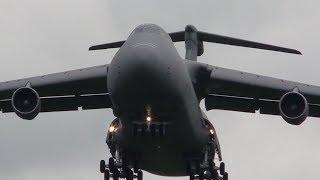RAF Fairford - Sabre Strike arrivals - day 1 - 2nd June 2014