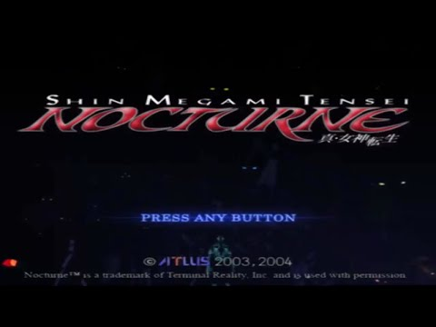 Shin Megami Tensei Nocturne Maniax- 100% Hard Mode-Part 1-The Conception