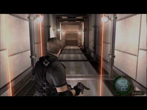 Laser Hallway - Resident Evil 4 HD (PS3 gameplay)