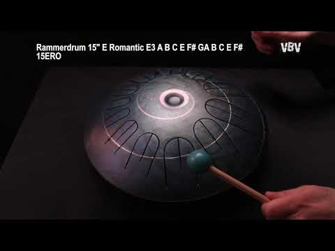 "Tongue Drum 15"" 12 Notes E Romantic video"