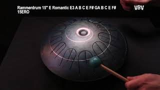 "Tongue Drum 15"" 12 Notes E Romantic video"