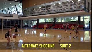 Shooting alternate shooting 2