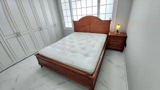 영국 매트리스 힐러리디비 그리고 이태리 호두나무 침대 …