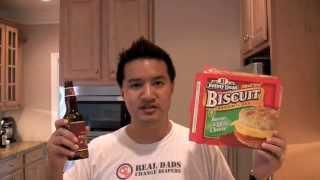 Deep Fried Breakfast Biscuit