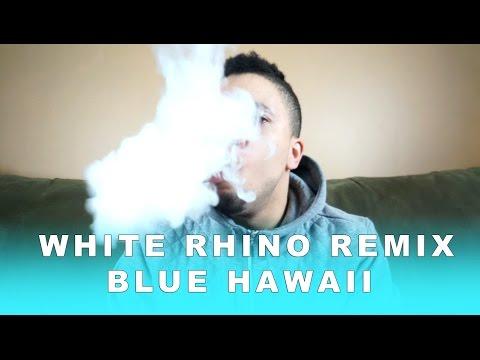 White Rhino Remix Blue Hawaii Ejuice Review