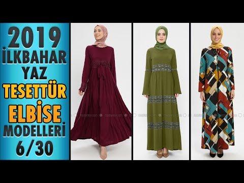 #Modanisa İlkbahar Yaz Tesettür Elbise Modelleri 2019 - 6/30 | #Hijab #Dress | #tesettür #elbise