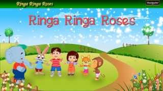 Ringa Ringa Roses - English Nursery Rhyme for Kids and Childrens