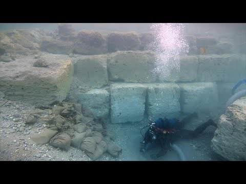The Roman period main harbour of Ancient Corinth Discovered