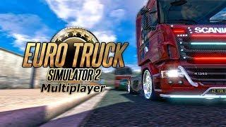 Euro Truck Simulator 2 multiplayer - stream Выполнение контракта + Добавление доклада в VTCpanel
