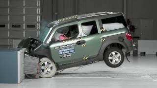 2003 Honda Element moderate overlap test