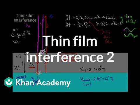 Thin Film Interference part 2 | Light waves | Physics | Khan Academy