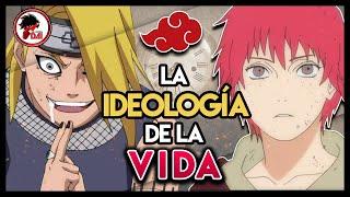 Naruto: DEIDARA, SASORI y la IDEOLOGÍA de la VIDA en Naruto Shippuden
