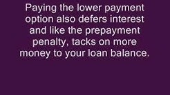 Option Arm Loans and Prepayment Penalties