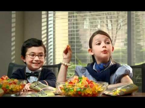 Regan Mizrahi & Fatima Ptacek - Haribo Golden Bears Commercial (2010)