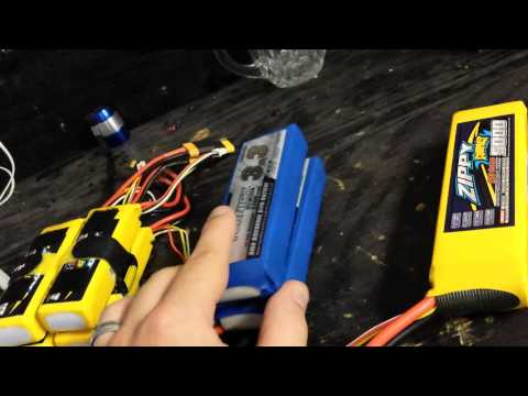 Lipo flight times with loaded fpv quadcopter