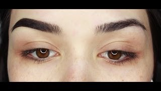 My Two Different Eyebrow Routines | All Products £10 Or Under | Sophia Mitchell