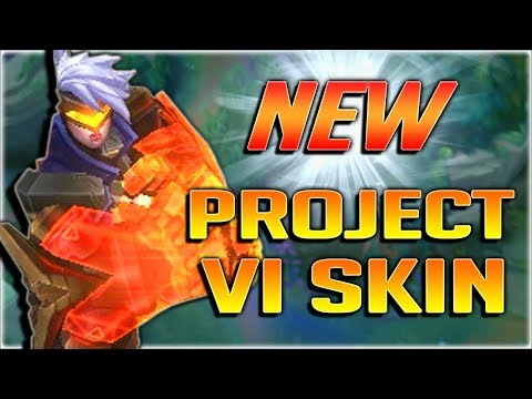 VI JUNGLE WITH NEW RUNES IS INSANE!! NEW PROJECT: VI SKIN GAMEPLAY/SPOTLIGHT - League of Legends PBE