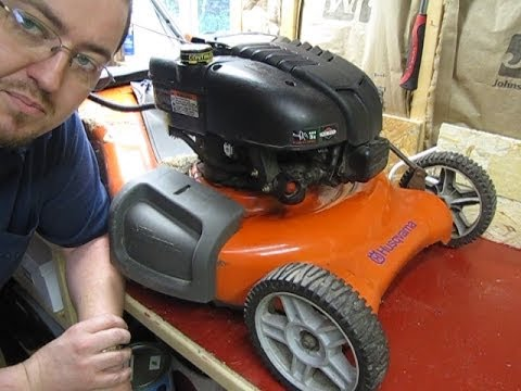 Mechanical Moron - My Husqvarna Lawnmower Won't Start