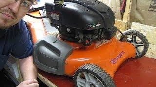 Mechanical Moron - My Husqvarna Lawnmower Won't Start