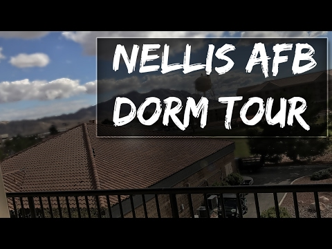 AIR FORCE DORM TOUR  (Nellis AFB)