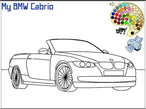 Car Coloring Pages For Kids - Car Coloring Pages - YouTube