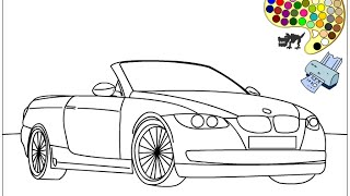 Car Coloring Pages For Kids - Car Coloring Pages