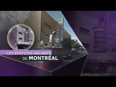Cinéma à l'abandon à Montréal