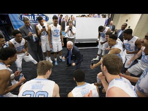 UNC Men's Basketball: Locker Room Celebration Post Syracuse – Next Up National Championship!