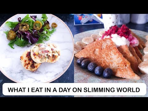 WHAT I EAT IN A DAY ON SLIMMING WORLD TO LOSE WEIGHT