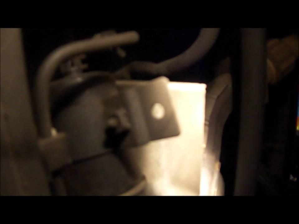 2002 Isuzu Rodeo LS 3 2L V6 Fuel Filter Replacement