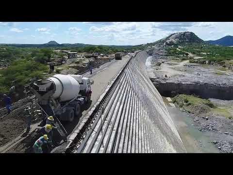 VEJA VIDEO DA CONSTRUÇÃO DA BARRAGEM OITICICA