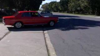 Ford Falcon XY GS Burnout at work