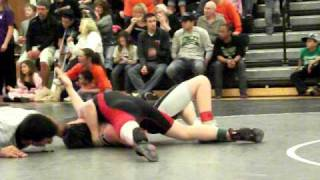 Dean Adkins - Mo State Regionals 2011 , Pinning one more