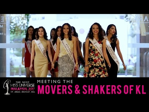 The Next Miss Universe Malaysia 2017: Meeting The Movers & Shakers of KL