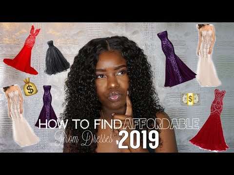 FINDING AFFORDABLE PROM DRESSES 2019  Best Dress for Your Body Type AllaijaBriann