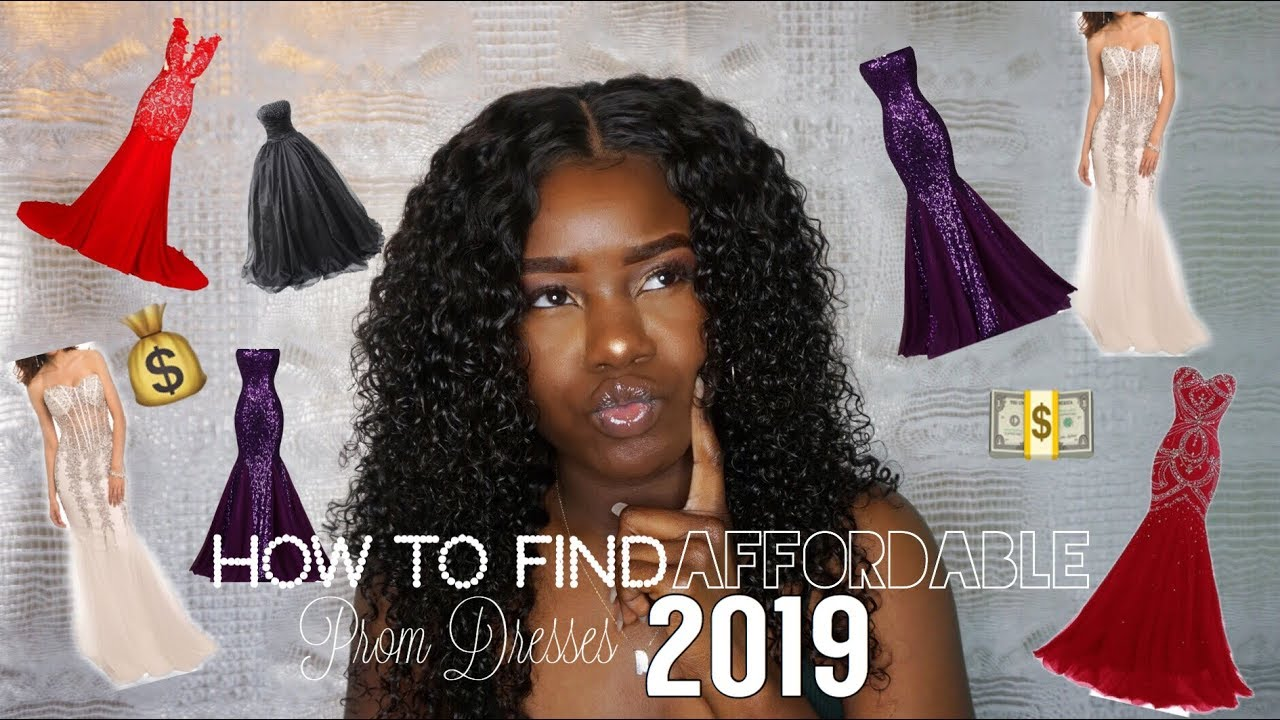 b4876790728f FINDING AFFORDABLE PROM DRESSES 2019| Best Dress for Your Body  Type|AllaijaBriann