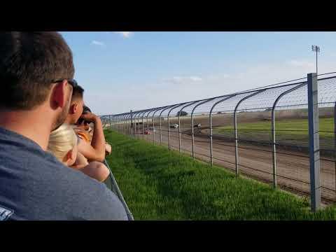 6-8-19 Junction Motor Speedway Stock Car Heat Kyle Dumpert