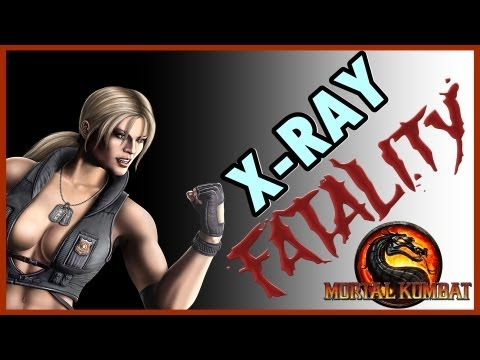 Mortal Kombat 9 Komplete Edition ( PS3 ) : Sonya Blade ( Fatalities + X-RAY )