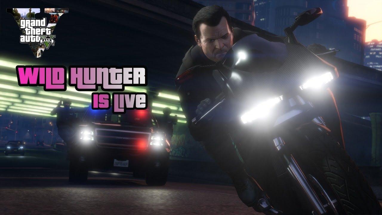 GTA 5 LIVE    live in telugu    #GTA 5 LIVE IN TELUGU    WILD HUNTER GAMING