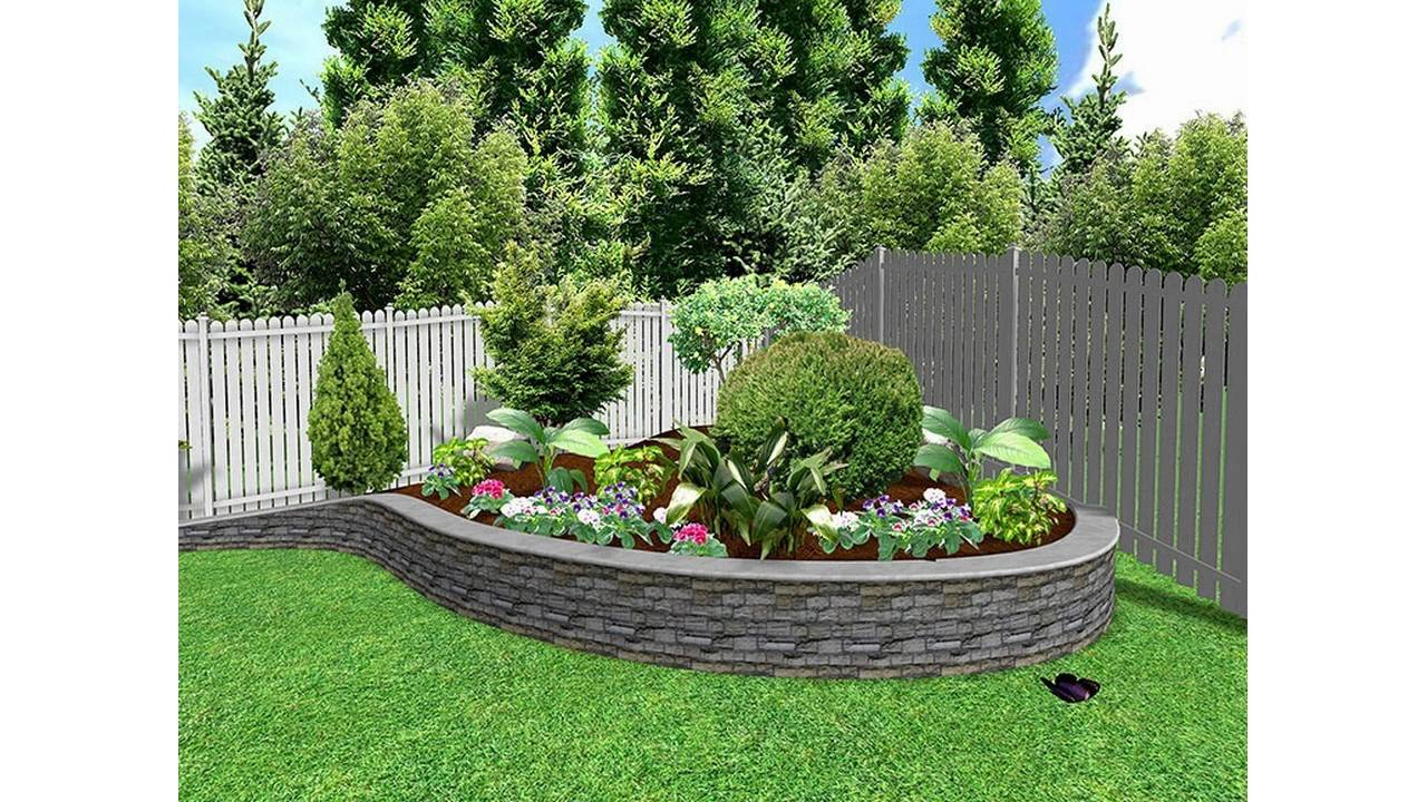 Ordinaire Simple Small Garden Designs
