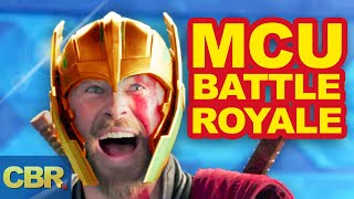 MCU Battle Royale: Who Would Win?