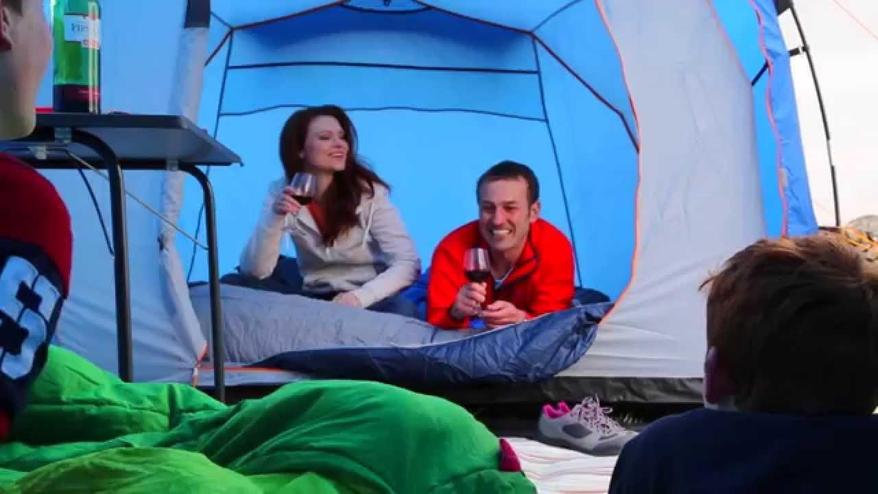 Freedom Trail Kanaka 6 Person Family Tent  sc 1 st  YouTube & Freedom Trail Kanaka 6 Person Family Tent - YouTube