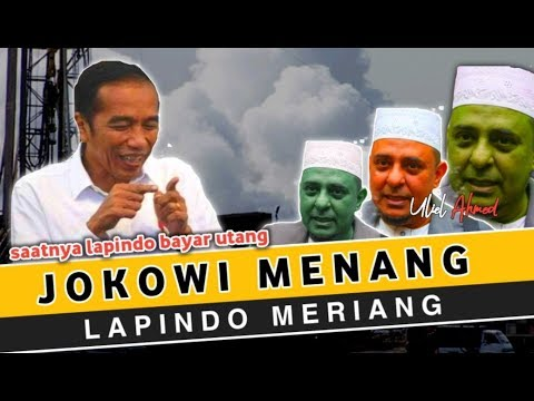 JOKOWI MENANG    LAPINDO MERIYANG