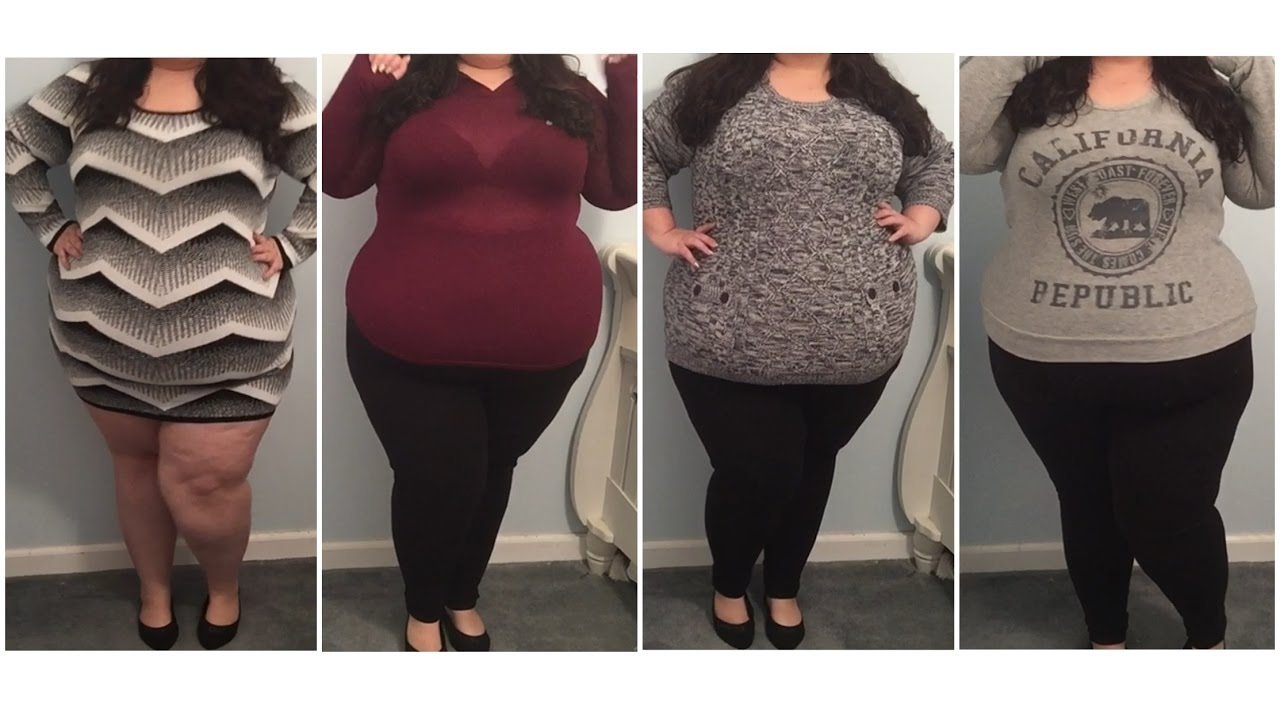Plus size Ross haul/try on