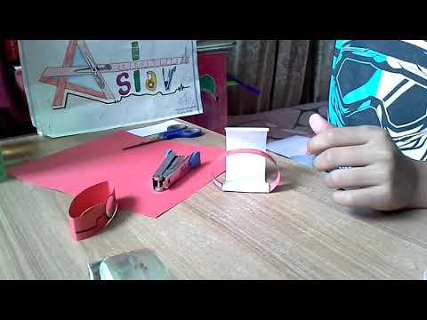How To Make An Easy Paper Ironman Transforming Wrist Watch From Civil War.